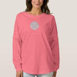 クローバーは女性の精神のジャージーのワイシャツを去ります スピリットジャージー