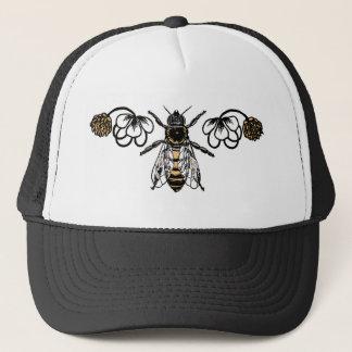 クローバーを持つ蜂 キャップ