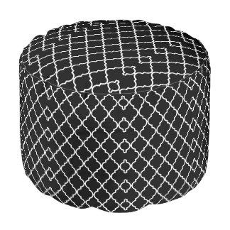 クローバーパターン枕Pouf プーフ