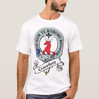 クローフォードの一族は記章を付けます Tシャツ