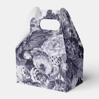 クワ青い紫色の花のToile No.3 フェイバーボックス