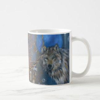 クーガーのオオカミのdreamcatcherのコップ コーヒーマグカップ
