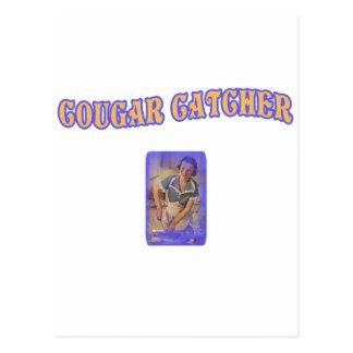 クーガーのキャッチャー ポストカード
