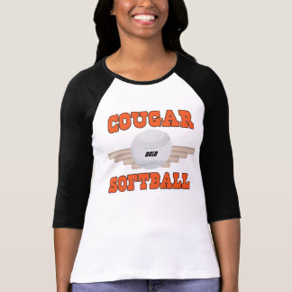 クーガーのソフトボール Tシャツ