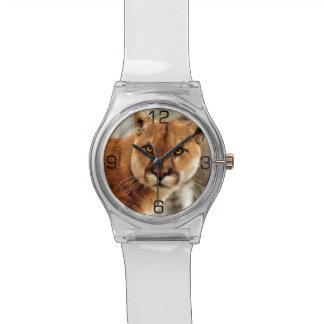 クーガーの写真の絵画 腕時計