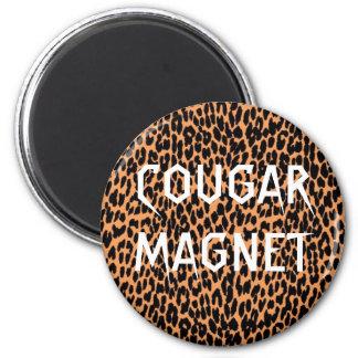 クーガーの磁石 マグネット