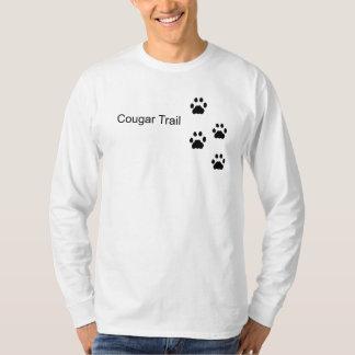 クーガーの道 Tシャツ
