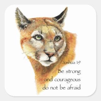 クーガー動物との有望な聖なる書物、経典ジョシュア スクエアシール