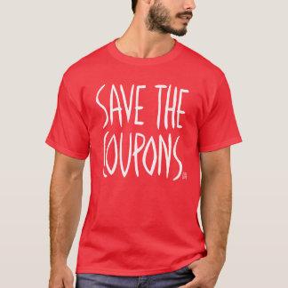 クーポンのおもしろいな政治声明のスローガンを救って下さい Tシャツ
