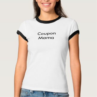 クーポンのママ Tシャツ