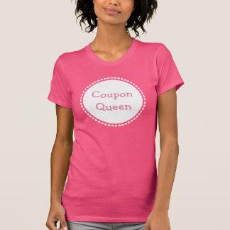 クーポンの女王のTシャツ Tシャツ