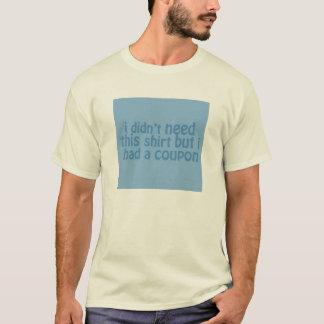 クーポンのTシャツ Tシャツ
