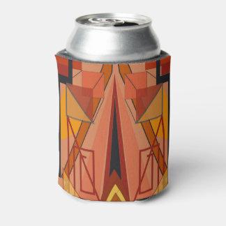 クーラーボックスのアールデコのデザイン 缶クーラー
