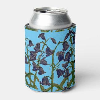 クーラーボックスのBluebellの花の絵 缶クーラー