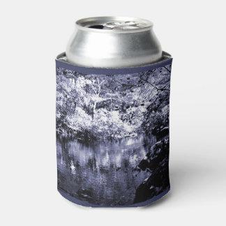 クーラーボックス-秋の流れ-青い明暗中間部 缶クーラー