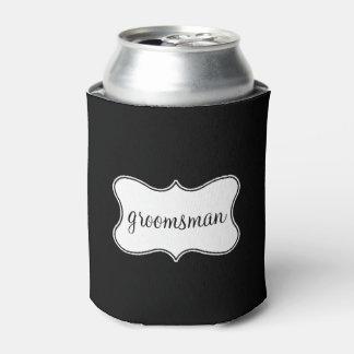 クーラーボックス-花婿の付添人の頂上 缶クーラー