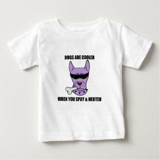 クーラー場合のUの中性ベビーのワイシャツ ベビーTシャツ