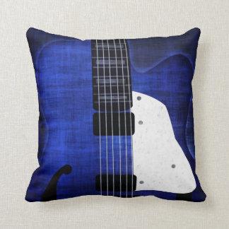 クールでグランジなエレキギターの枕 クッション