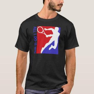 クールでリズミカルなテニスのデザイン Tシャツ