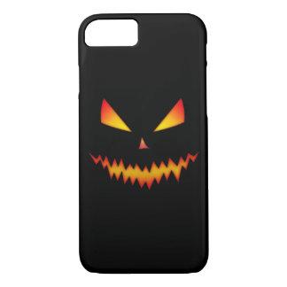 クールで恐いジャックO'LanternハロウィンのiPhone 7の場合 iPhone 8/7ケース