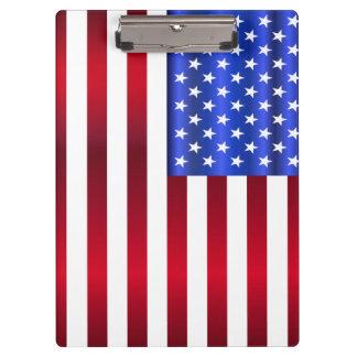 クールで愛国心が強い星は及び縞で飾ります クリップボード