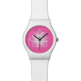 クールで白熱[赤熱]光を放つな原子|のガーリーなギフト 腕時計