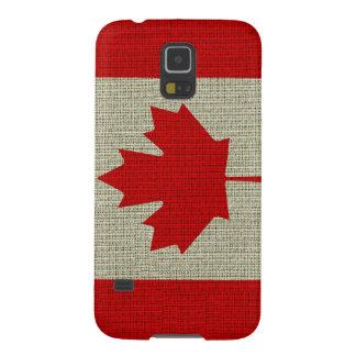 クールで粋なカナダの旗のバーラップの質 GALAXY S5 ケース