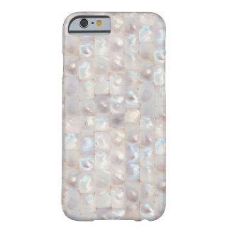 クールで美しい真珠色のエレガントなパターン iPhone 6 ベアリーゼアケース
