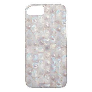 クールで美しい真珠色のエレガントなパターン iPhone 7ケース
