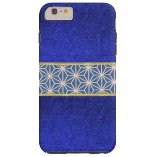 クールで青いビロードの質のデザインのiPhoneの箱 Tough iPhone 6 Plus ケース