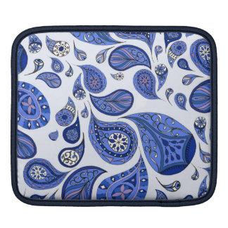 クールで青い涙のiPadの箱 iPadスリーブ