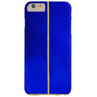 クールで青い質の金ゴールドはiPhone 6のプラスの箱をひっくり返しました スキニー iPhone 6 Plus ケース