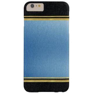 クールで黒い金ゴールドのiPhone 6の細い薬莢 Barely There iPhone 6 Plus ケース