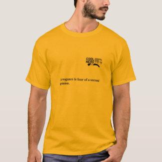 クールなおたくの横柄 Tシャツ