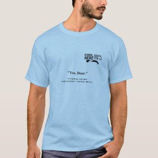 クールなおたくの黙従 Tシャツ