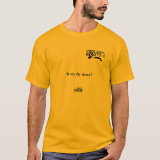 """""""クールなおたく""""はTシャツ""""私のはえですか。"""" Tシャツ"""