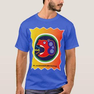 クールなおもしろいのカラフルな余計なことをしゃべる人 Tシャツ