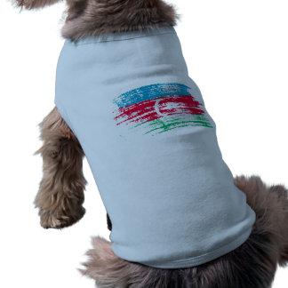 クールなアゼルバイジャンの旗のデザイン ペット服