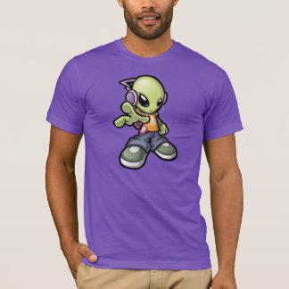 クールなエイリアン Tシャツ