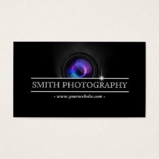 クールなカメラレンズの写真撮影の名刺 名刺