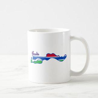 クールなガンビア コーヒーマグカップ