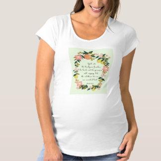 クールなキリスト教の芸術-賛美歌の68:6 マタニティTシャツ