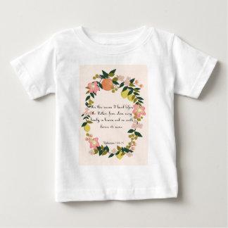 クールなキリスト教の芸術- Ephesiansの3:14 - 15 ベビーTシャツ