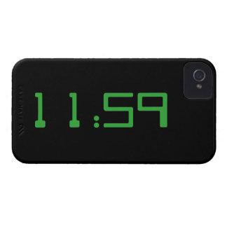 クールなキリスト教時間は遅い11:59のiPhoneの場合です Case-Mate iPhone 4 ケース