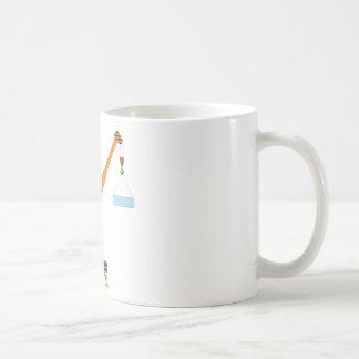 クールなクレーン男の子のギフトのアイディア コーヒーマグカップ