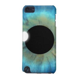 クールなクローズアップの顕著な青い目のアイリス眼球の生徒 iPod TOUCH 5G ケース