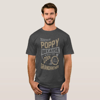 クールなケシ。 完全なギフト! Tシャツ