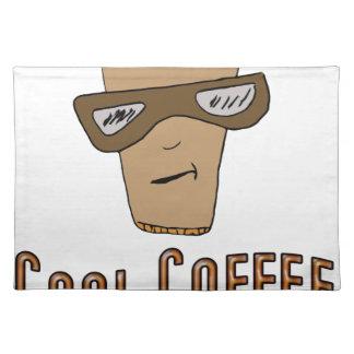 クールなコーヒー ランチョンマット