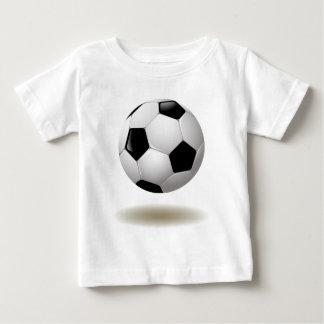 クールなサッカーの紋章 ベビーTシャツ