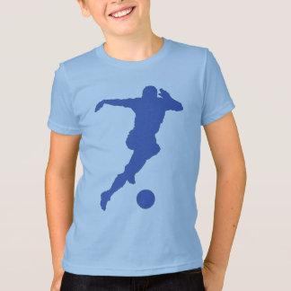 クールなサッカーの選手 Tシャツ